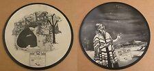 Seltenste Jiddisch Jewish Judaica Ben BARUCH kadisch/Eli 1950 Picture Vinyl 78' LP