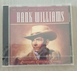 HANK WILLIAMS: Legendary Country Singers (CD, TIME-LIFE 2002) New And Sealed