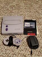 Super Nintendo Mini Jr SNES SNS-101 Console Video Game System
