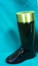 Boot leather empty Avon cologne after shave bottle bottles 1 VZ7