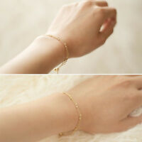 Women Anklet Bead Chain Ankle Bracelet Barefoot Sandal Beach Foot Jewelry IT