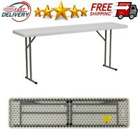 Stansport Folding Camp Table White 48 x 24 x 29-Inch 616-2448