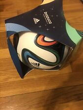 Brand New With Sticker Brasuca 2014 World Cup Brazil Fifa Official Ball Size 5