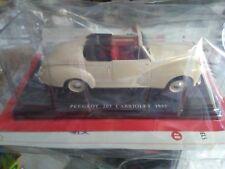1/24 IXO - AUTO VINTAGE DELUXE - PEUGEOT 203 convertibile in 1953 #28