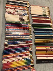 lot of 134) unused advertising/Fun pencils