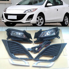 7pcs Auto Front Outside Daytime Fog Lamp Light Assembly For Mazda 3 2011-2013