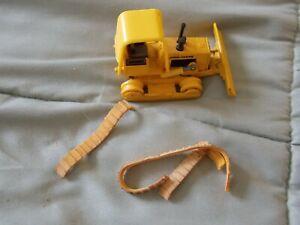 Vintage Miniature ERTL John Deere Bulldozer #568 8513 Yellow NEEDS TRACKS