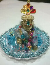 INDIAN God CHILD LOOK KRISHNA IN LADDU GOPAL WITH DRESS MANDIR,JANMASHTMI GIFT