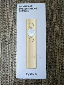Logitech Spotlight Wireless Presentation Remote Control with USB (GOLD)