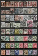 Collection of mixed used GB stamps QV-GVI.