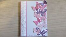 Butterfly wishes Birthday Friendship Card Kit w/Some Stampin Up