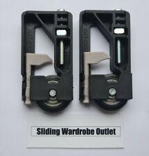 2x 50kg Spacepro Stanley 17-4264Y-000 TA C3-8 Sliding Wardrobe Wheels - Guide