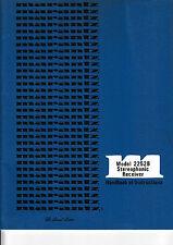 Opération instructions-Manuel d'utilisation pour Marantz 2252 B