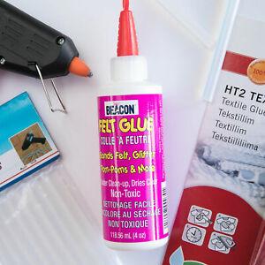 Adhesives - Felt Glue, Glue Gun, Glue Sticks for craft, hair bow making