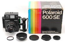 【 NEAR MINT IN BOX!】 Polaroid 600SE Professional Pack w/ MAMIYA 127mm F/4.7 Lens