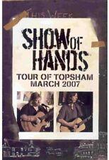 Show Of Hands Tour Of Topsham RARE (UK RELEASE) DVD