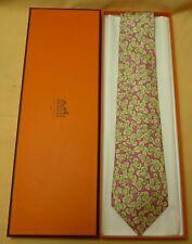 HERMÈS Krawatte Seide neu OvP / Silk Tie - Mint - Box - #16202