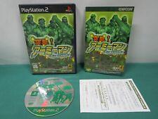 PlayStation2 -- Totsugeki ! Army Man -- included leaflet. PS2. JAPAN GAME. 38362