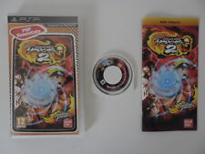 NARUTO ULTIMATE NINJA HEROES 2 - SONY PSP - JEU PSP ESSENTIALS COMPLET