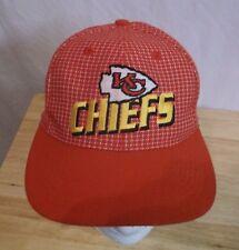 Vtg 90s Kansas City Chiefs Nfl Pro Line Hat Cap Old School Grid Logo Nwot