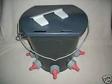 Tränkeimer mit Deckel 8 Ltr. für Lämmer, Lämmertränkeimer Kunststoff NEU