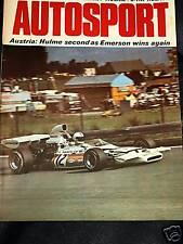Zeltweg autrichien grand prix 1972 emerson fittipaldi jps ford lotus 72D 72