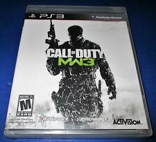 Call of Duty: Modern Warfare 3 Sony PlayStation 3 *Factory Sealed! *Free Ship!