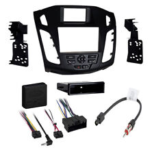 Car stereo Radio Dash install kit for 2012-2014 Ford Focus without myFord Touch