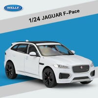WELLY White 1:24 Jaguar F-PACE Detailed Alloy Diecast Model Cars Unopened Box