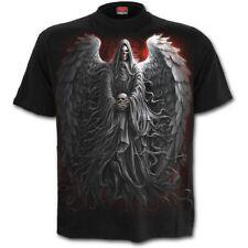 Spiral Direct Death Robe - T-Shirt Reaper/Skulls/Wings/Metal /Biker/Top/Tee