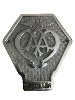 AA badge - vintage, pre-war - classic car or commercial vehicle