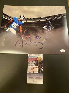 Victor Cruz Signed 11x14 Photo New York Giants JSA COA