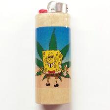 Sponge Bob Weed Lighter Case Holder Sleeve Cover Fits Bic Lighters