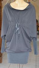 ffe912f64640a COP COPINE -Très jolie robe modèle bazin gris - Taille 1 - EXCELLENT ÉTAT