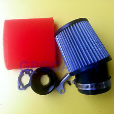 CLONE Honda GX160 GX200 Go Kart Racing Air filter Adapter kit & foam prefilter
