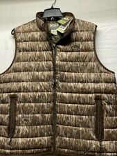 Drake Double Down Vest Mossy Oak Bottomland XL Duck Waterfowl