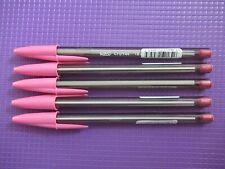 Bic Cristal Fun Colours Ballpoint Pens 10 Various Colors with 1.66mm Nib Tip
