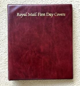 Royal Mail FDC First Day Cover Albums with 20 Sleeves. Used but Good Condition