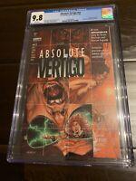 Absolute Vertigo 1st Preacher D.C. Vertigo 1995 CGC 9.8 NM/MT WP - Comic D0175