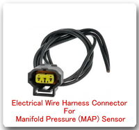 3 Wire Harness Pigtail Connector for MAP  AS398 Fits: COBALT HHR SOLSTICE - SKY