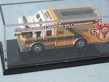 Matchbox Hazmat Fire Rescue EM Golf Tournament 2011 Yellow Body Toy Model Car