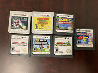 Mario DS Game Bundle Lot: New Super Mario Bros, Luigi Mansion, Mario Kart + More