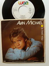 """ALAN MICHAEL : Is that you / love hit me - 7"""" SP 1986 Germany WEA 248 485"""
