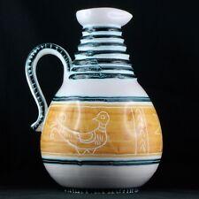 Pichet OISEAUX Céramique YVON ROY à DURTAL baudoin/vallauris/picault/capron/jug