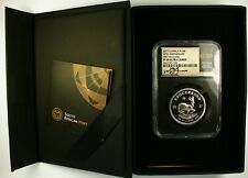 2017 50th Anniversary Proof Platinum Krugerrand First Releases PF69 UC NGC RARE