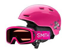 SMITH ZOOM RASCAL SKI / SNOW HELMET / GOGGLE COMBO, YOUTH SMALL, Many Colors!