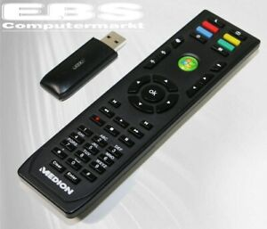 Medion Multimedia PC Fernbedienung Remote Control RC-0617 mit USB Empf 15m Neu