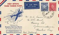 AFC128) TEAL first flight regular airmail between Australia and New Zealand