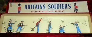 Britains Set No. 2060 Confederate Infantry