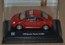 CARARAMA / HONGWELL  - VW / VOLKSWAGEN - NEW BEETLE TURBO S - RED - 1:72 SCALE